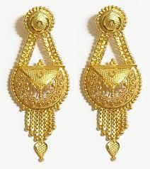 Gold Earrings Features Reliable Cost Effective High Quality