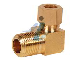 Brass Male Elbow Connector-NPT