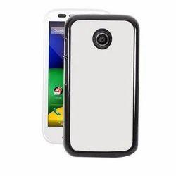 Black Motorola Moto E Blank Case