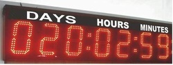 Remaining Days LED Display Board, Power Consumption : Above 50 Watt