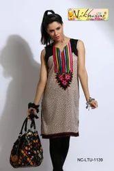 Designer Beautiful Party Wear Kurti Tunic Top