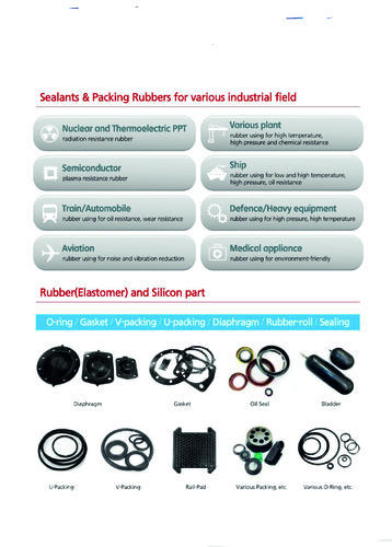 Field Of Applications Rubber - View Specifications & Details