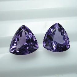 Trillion Amethyst Gemstone