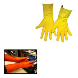 Rubber Glove for Hand Safety