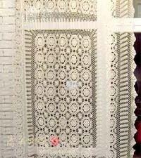 Crochet Curtains, Table Mats