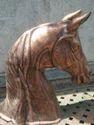 Horse Bust Statue