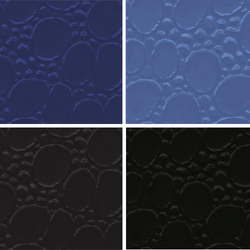 Blue PVC Leather Cloth