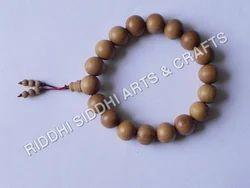 Sandalwood Wrist Rosary Bracelet