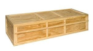 Wooden Shipping Crate वडन शपग करट Wood