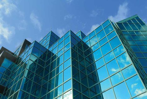 Glass Building Facade Texture View Specifications Details of