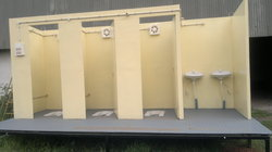 Big Portable Toilet Cabins