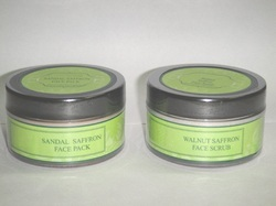 Natural Skin Care Face Pack & Scrub