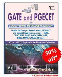 GATE and PGCET for Computer Science And IT