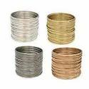 Multicolor Metallic Bangles