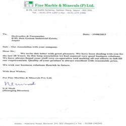 Fine Marble & Minerals (P) Ltd.