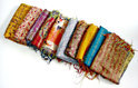 Vintage silk kantha scarve designer beautiful kantha scarves