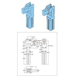 Push Pull Action Toggle Clamp Front Mounting Type