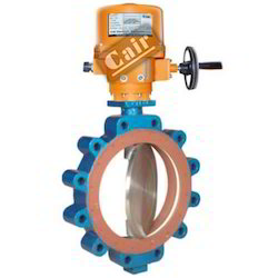 Actuator Operated Butterfly Valves