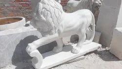 Marble Lion Status