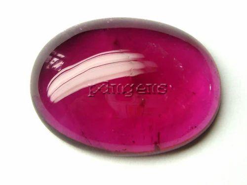 98eadaf5ece4b Pink Tourmaline Oval Cabochon Gemstone