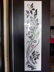 HDF Laminated Carved Door