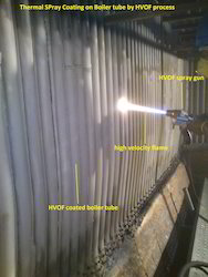 HVOF Coating On Boiler Tube