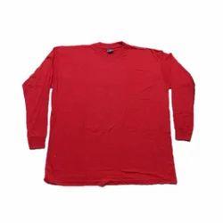 Hosiery Plain Mens Round Neck T Shirts