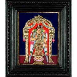 Lord Andal Tanjore Painting