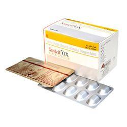 Cefixime 200mg   Ofloxacin 200mg   Lactic Acid Bacillus 60 Millions spores