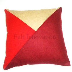 Woolen Cushion Cover