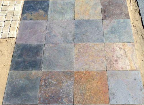 Pea Multi Color Slate Stone At Rs