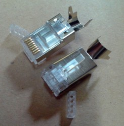 Cat6A / Cat7 Shielded Connector