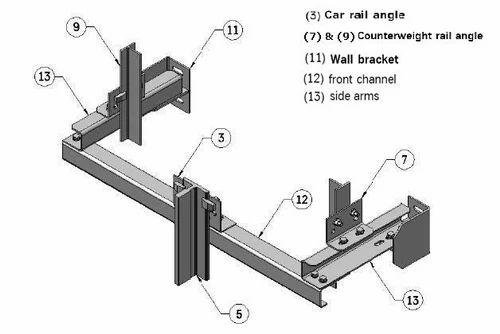 Elevator Bracket Kit Elevators Combination Bracket Kit