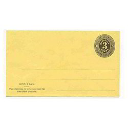 Peace Official Printed Paper Envelope, Rectangular