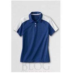 Mens Contrast Pique T Shirt