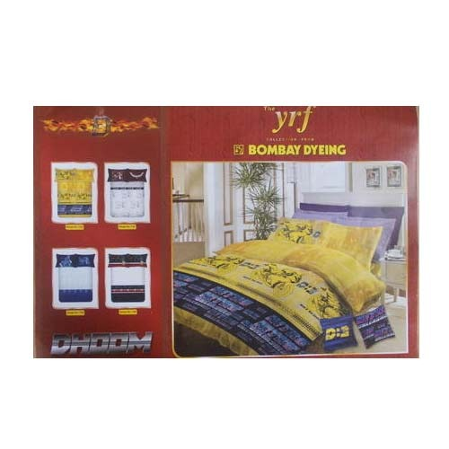 bombay dyeing bed sheet dhoom 3 bed sheet retailer from