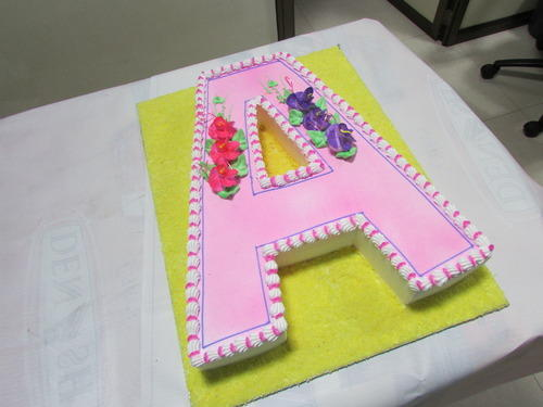 Alphabets Cake View Specifications Details Of Theme Cake By