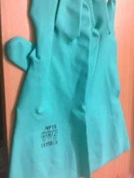 Nitrile Gloves with Filock Line