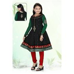 Cotton Anarkali Girls Suits