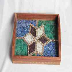 Gemstone Handicraft Box
