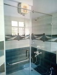 180 degree swing shower enclosure