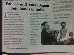 Fabcon & Dremax Join Hands in India