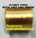 Real 22 Carat Gold Zari Thread
