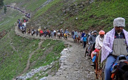 Pilgrimage Tour To Shri Amarnath Ji Yat In Srinagar