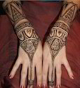 Black / Red Heena Tattoos, For Personal, Pack Size: 100 Packs