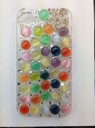 Dotted iPhone & Samsung Mobile Cover