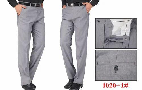 Men Office Wear Formal Pants