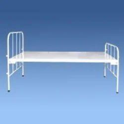Manual Steel Tubular Hospital Bed, Size/Dimension: 1980 Mm*910 Mm