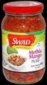 Swad Methiya Mango Pickle, Packaging Size: 400 Gm, Packaging Type: Glass Bottles