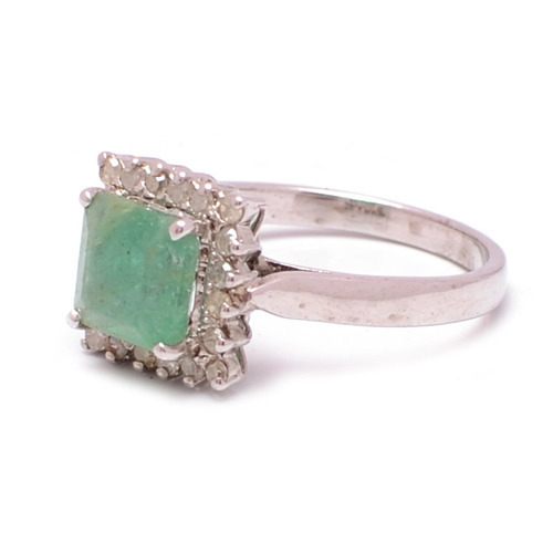 Light Green Stone Ring